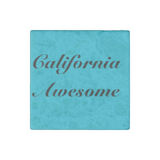 California Awesome Magnet Stone Magnet
