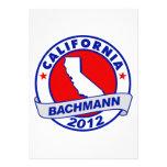 California Bachmann Personalized Invite