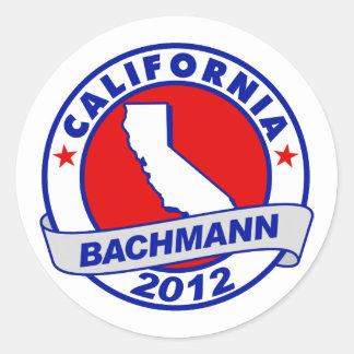 California Bachmann Stickers
