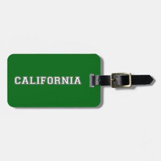 California Bag Tag