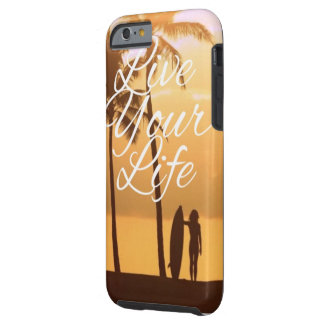 """California bake """"Live Your Life"""" phone case"""