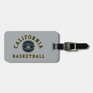 California Basketball   Cal Berkeley 5 Luggage Tag