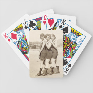 California Beach Beauties playing cards