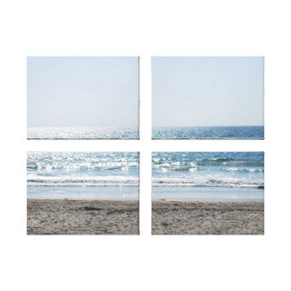 California Beach - Beautiful Ocean Gallery Wrapped Canvas