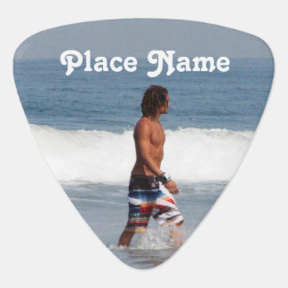 California Beach Guitar Pick