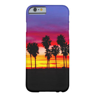 California Beach Palm Trees iPhone 6 Case