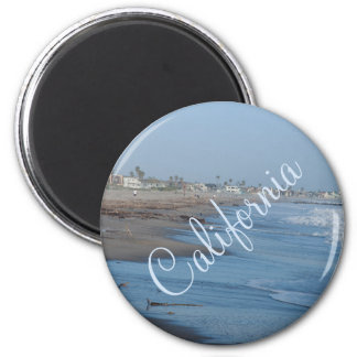 California Beach Photo Magnet