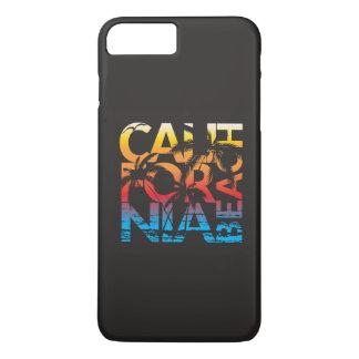 California Beach Poster iPhone 8 Plus/7 Plus Case