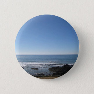 California Beach Seaside 6 Cm Round Badge