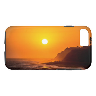 California Beach Sunset Phone Case