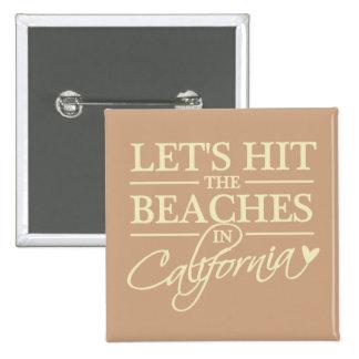 California Beaches button