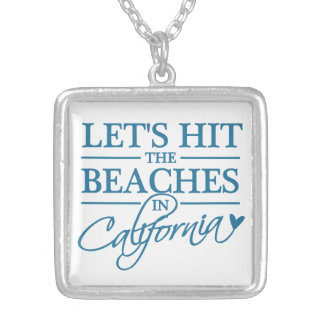 California Beaches necklace