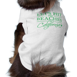 California Beaches pet clothing