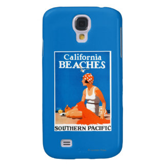 California Beaches Promotional Poster Galaxy S4 Case