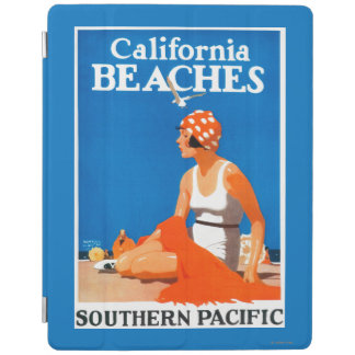 California Beaches Promotional Poster iPad Cover