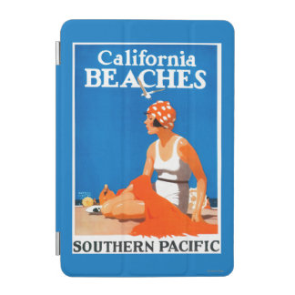 California Beaches Promotional Poster iPad Mini Cover