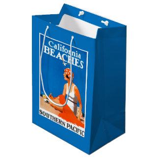 California Beaches Promotional Poster Medium Gift Bag