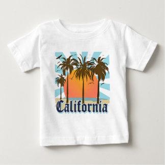 California Beaches Sunset Baby T-Shirt