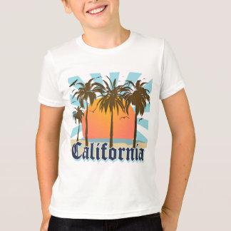 California Beaches Sunset T-Shirt