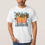California Beaches Sunset Tshirts