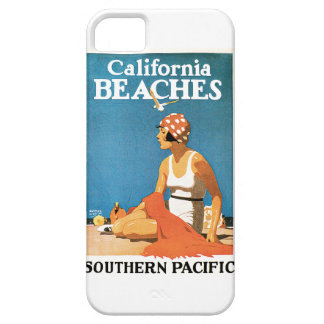 California Beaches Vintage Travel Poster iPhone 5 Covers