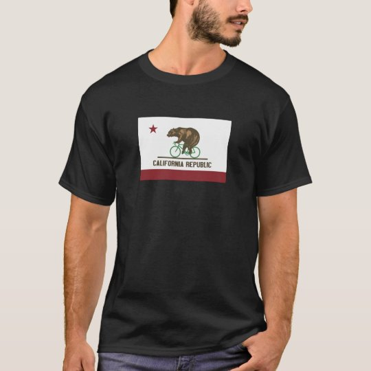 California Bear Bike T-Shirts