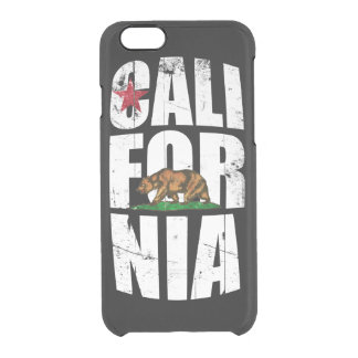 California Bear Flag iPhone 6 Plus Case
