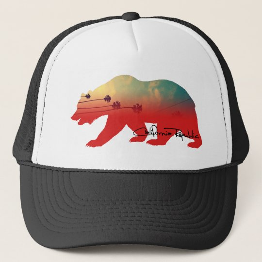 California Bear Trucker Hat