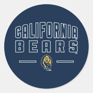 California Bears | Cal Berkeley 5 Classic Round Sticker