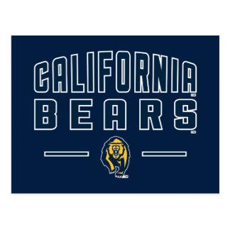 California Bears | Cal Berkeley 5 Postcard