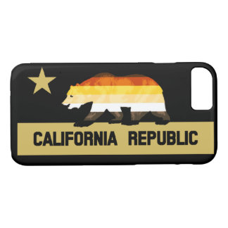 California Bears Gay Bears Pride Flag iPhone 8/7 Case