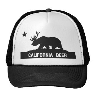 California Beer State Flag Hat