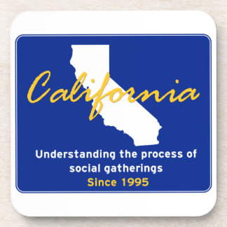California Beverage Coaster