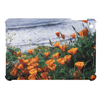 California, Big Sur Coast, California Poppy iPad Mini Cover