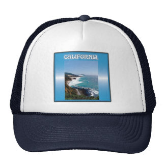 California Big Sur Ocean View Mesh Hat