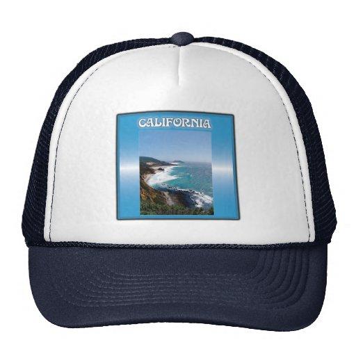 California Big Sur Ocean View Mesh Hat