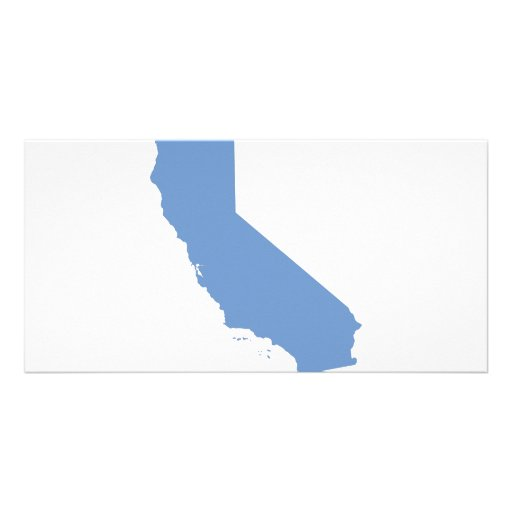 California: Blue State! Personalized Photo Card