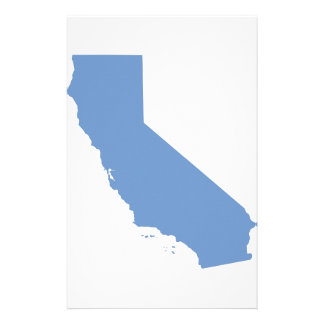 California: Blue State! Personalized Stationery