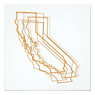 california blur invitation