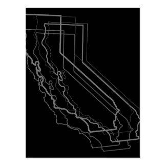 california blur postcard