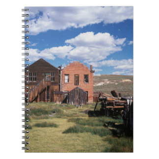 California, Bodie State Historic Park, An old Notebook