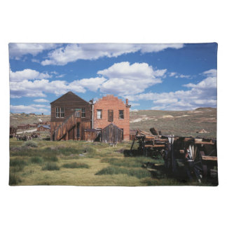California, Bodie State Historic Park, An old Placemat