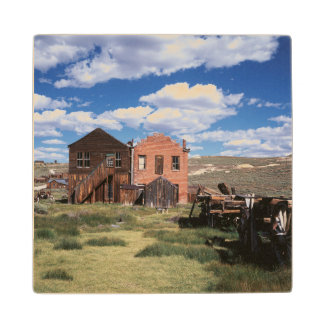 California, Bodie State Historic Park, An old Wood Coaster