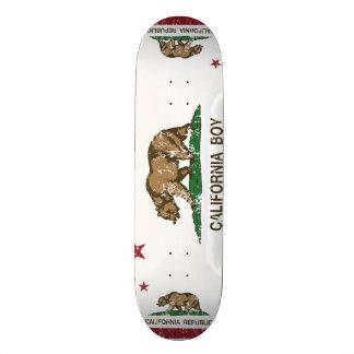 California Boy Flag Skateboard Deck