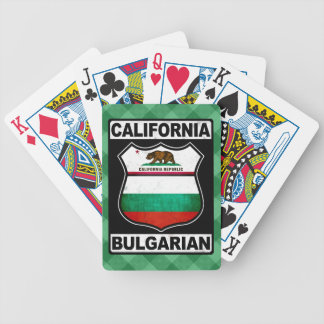 California Bulgarian American Card Deck