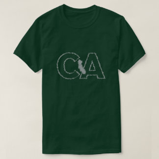 California CA state t-shirt