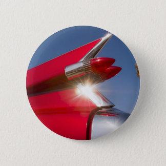 California Cadillac 6 Cm Round Badge