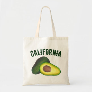 California Cali Avocado Avocadoes Health Food Tote Bag