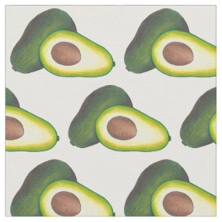 California Cali Fruit Avocado Avocadoes Food Fabric