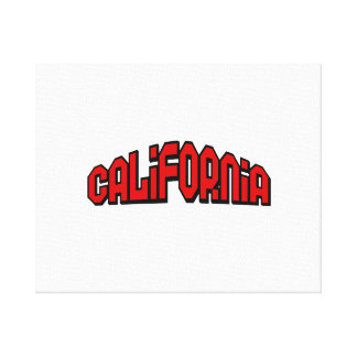 California Gallery Wrapped Canvas